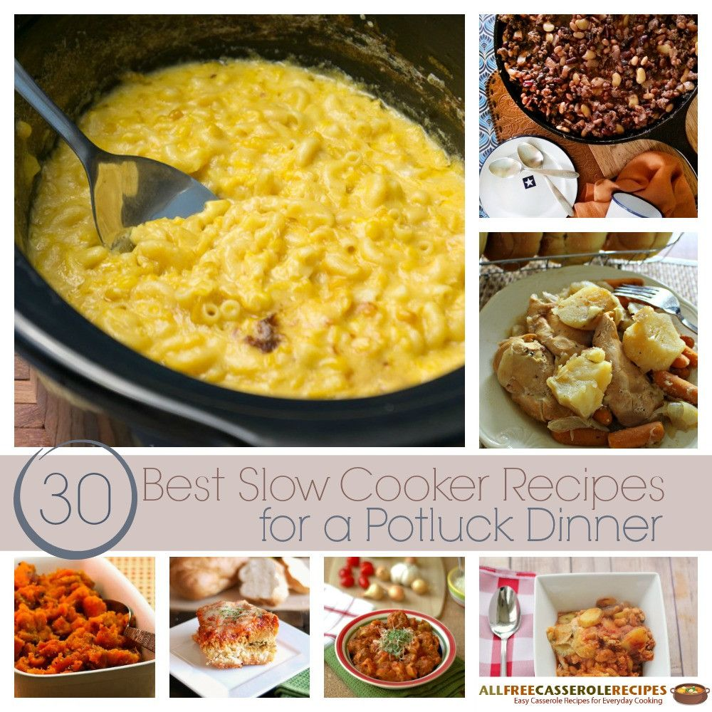 30 Best Slow Cooker Casserole Recipes For A Potluck Dinner Recipes