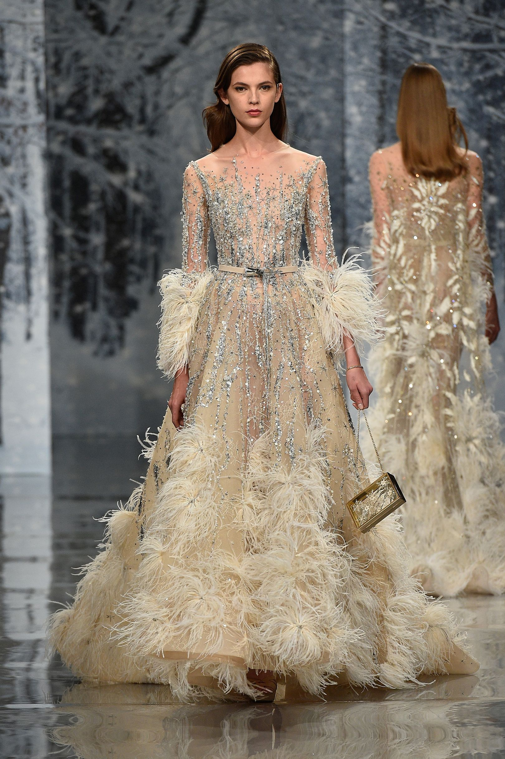Ziad nakad autumnwinter couture winter couture