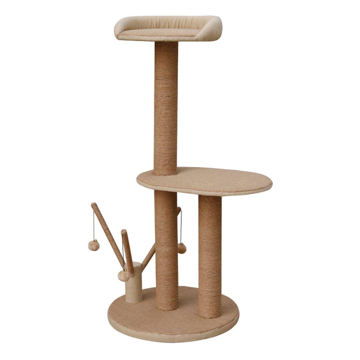 Petpals 45 Quot Citadel 2 Level Cat Tree Cat Tree Cat Perch Cat Furniture