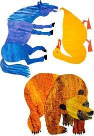 Free Eric Carle Coloring Pages For Kids Crafty Morning Eric Carle Eric Carle Activities Bear Coloring Pages