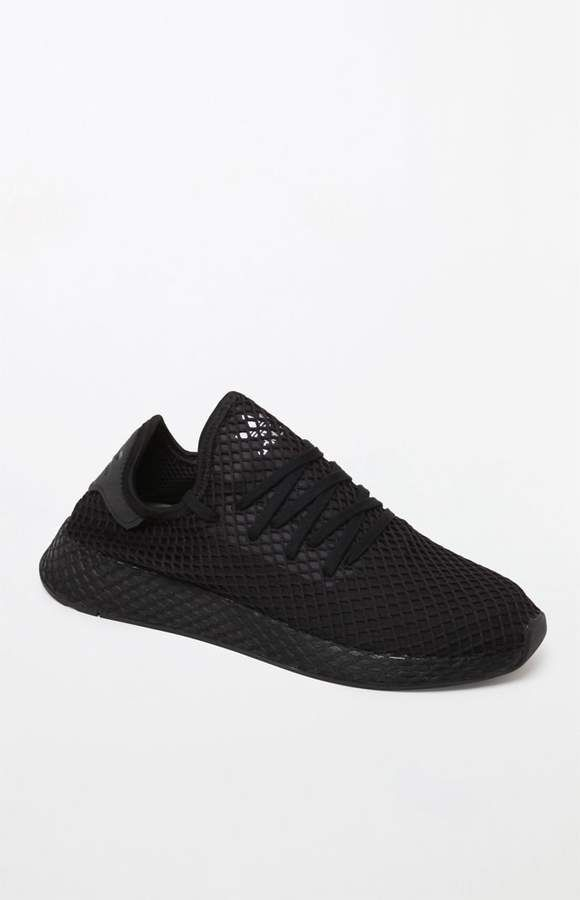 the latest 9479f 4fb79 adidas Deerupt Runner Black Shoes