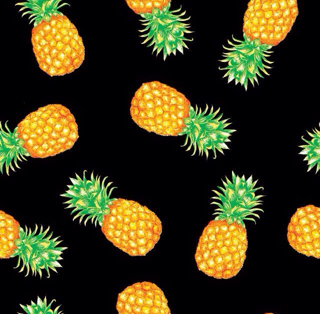 Cute pineapple background | Cute pineapple background ...