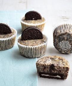 Lekkere Oreo Cheesecake Cupcakes . Super makkelijk en heel erg lekker.