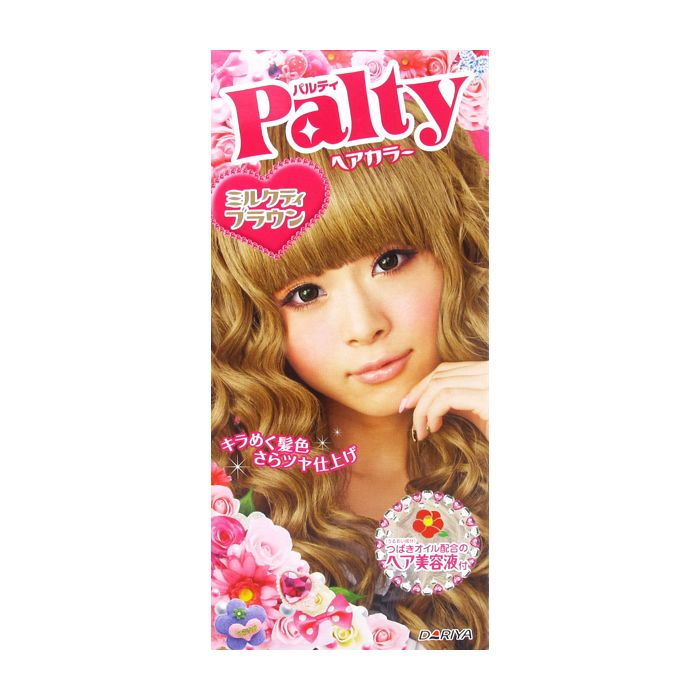 Palty Hair Dye Colors Hair With A Moist Shiny And Silky Finish The