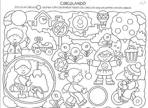 Actividades Para Niños Imprimir - AZ Dibujos para colorear   6 Años ...