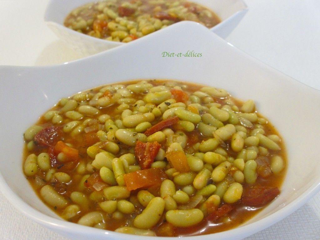 Flagoelets mijotés à l'espagnole : Diet & Délices ...