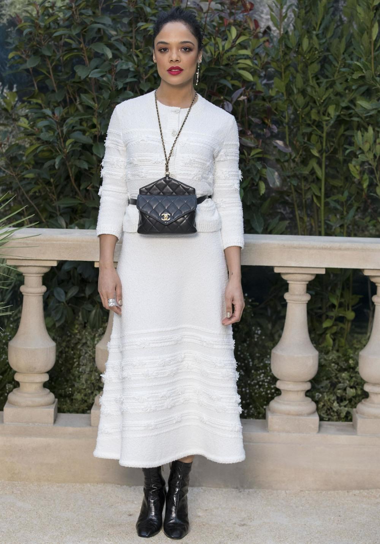 Tessa Thompson In Chanel Paris Haute Couture Fashion Week 01 2019 Couture Fashion Miami Fashion Week Fashion