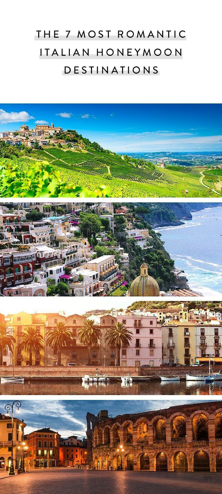 The 7 Most Romantic Italian Honeymoon Destinations Via