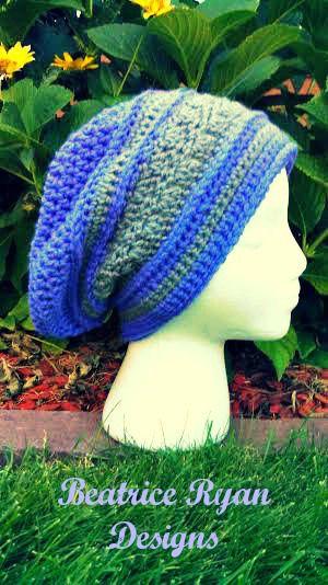 Amazing Grace Blissful Slouchy Free Crochet Pattern Slouchy Hat