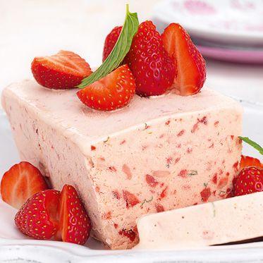 Erdbeerparfait #frozenbananarecipes