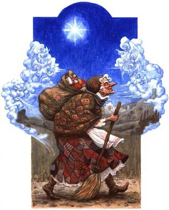 La Befana Santa Claus In Italy We Had An Album Of Recordings About All The Different Kinds Santas From Around World 3 Boys Loved It