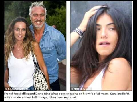 French football star David Ginola, 49, leaves his wife of 25 years after...