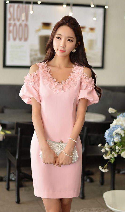 Pink Designer #Dress | Trendy Dresses | Pinterest | Vestiditos ...