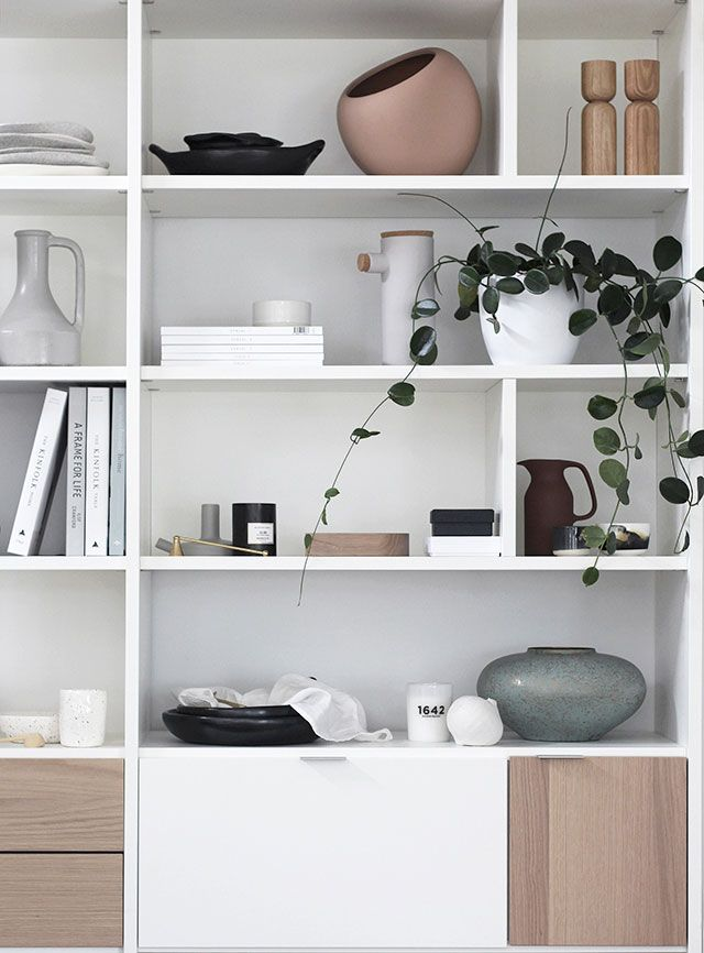 Styling By Michelle Halford For Danish Brand Boconcept Nordic Design Shelf Decor Living Room Interior Living Room Shelves #shelf #designs #for #living #room