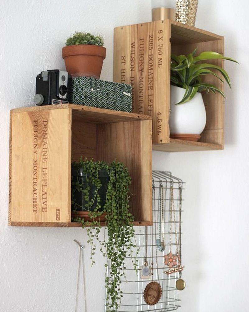 Caisse De Vin Déco 10 idées diy avec des caisses en bois | maison | deco caisse