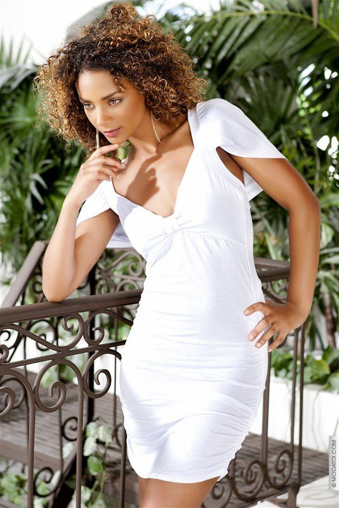 Robe de soiree blanche modatoi