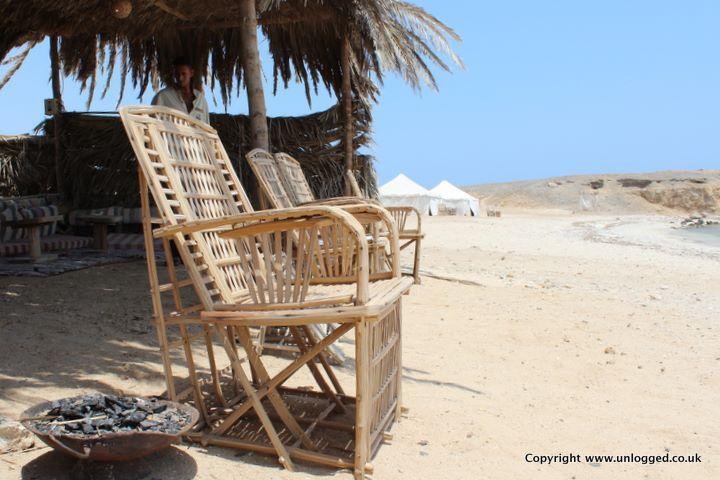 Comfy on the #beach of Marsa Alam, Red Sea, #Egypt ...