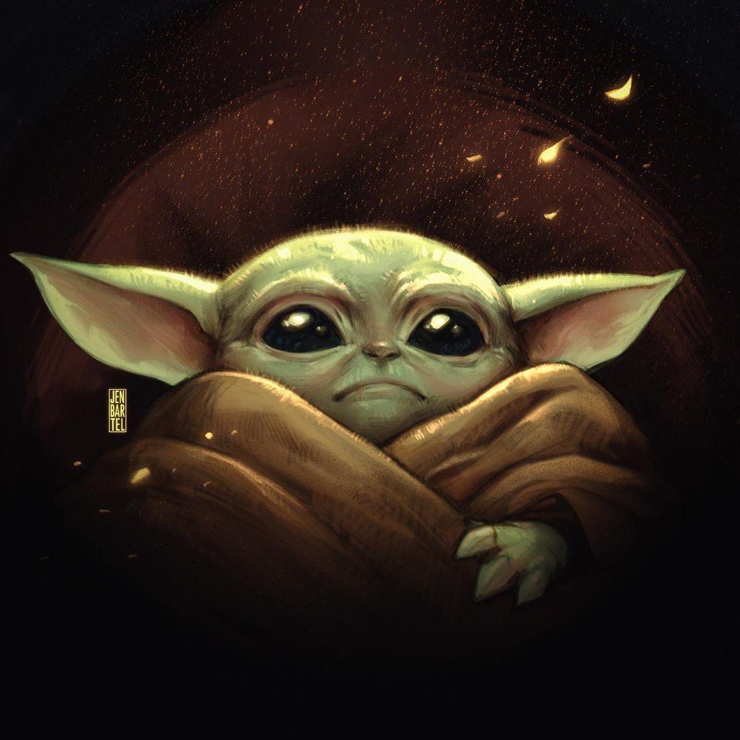 Pin By Jeanne Loves Horror On Baby Yoda Yoda Art Star Wars Art Yoda Drawing