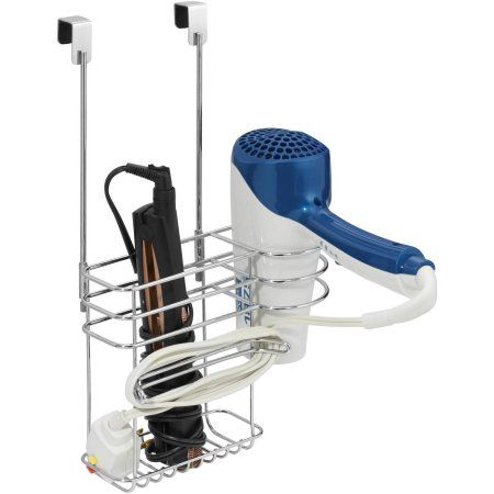 Chapter Over-the-Cabinet Hair Care Organizer, Chrome
