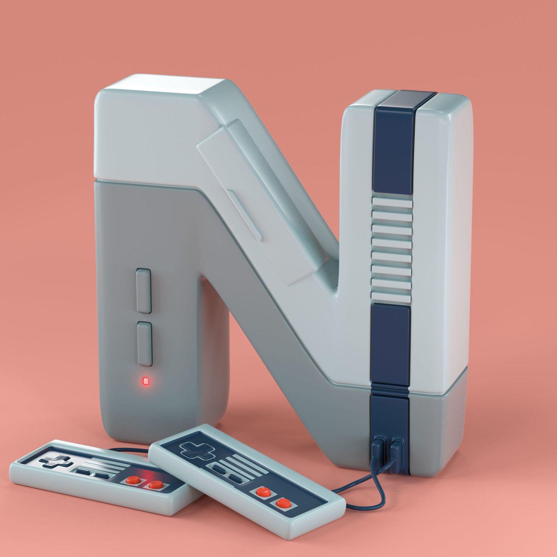 90s TOYpography — noahcampdesign.com
