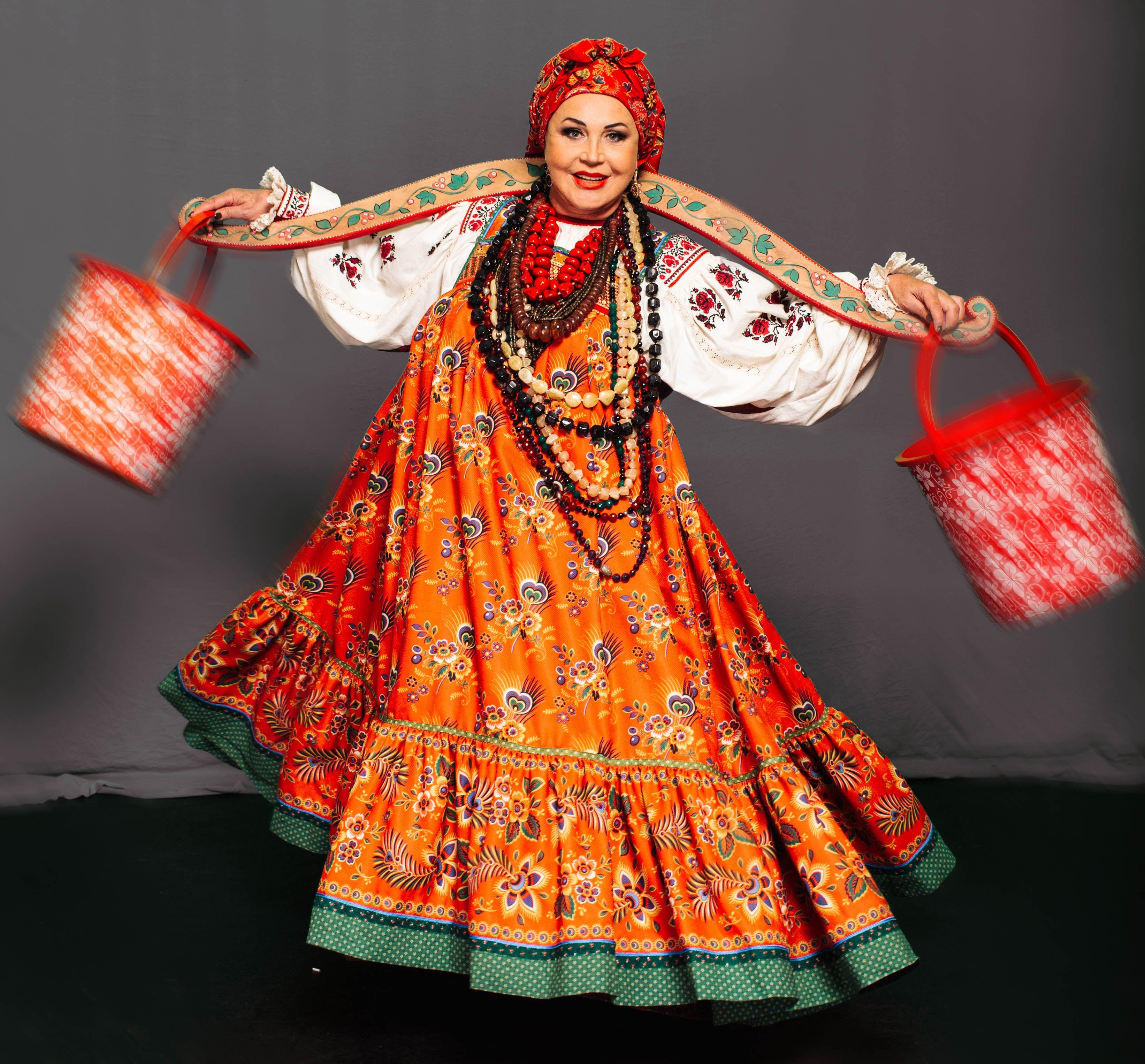 Современный русский народный костюм фото