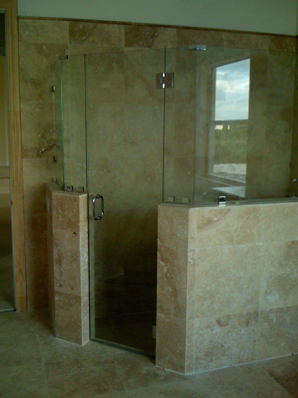 135 Degree Frameless Shower Door Frameless Shower Doors