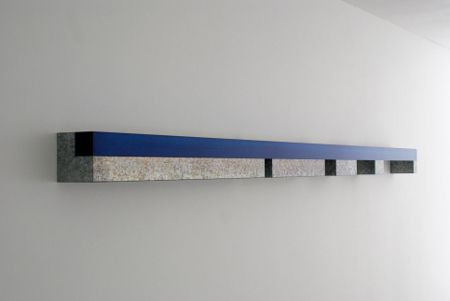 DONALD JUDD Horizontal Wall Works, (Progressions)