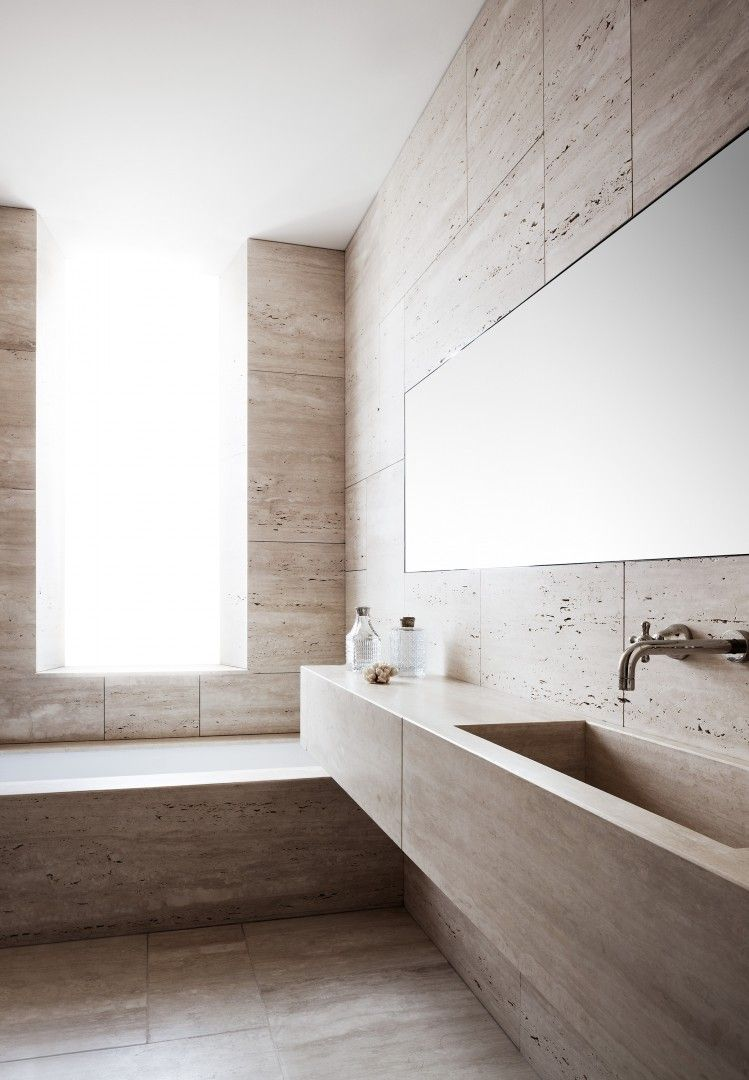 minimalistic light apartment in rome - gravity | bathroom - blog