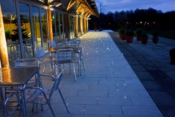 Led Lit Up Pavers Garden Paths Patio Pavement