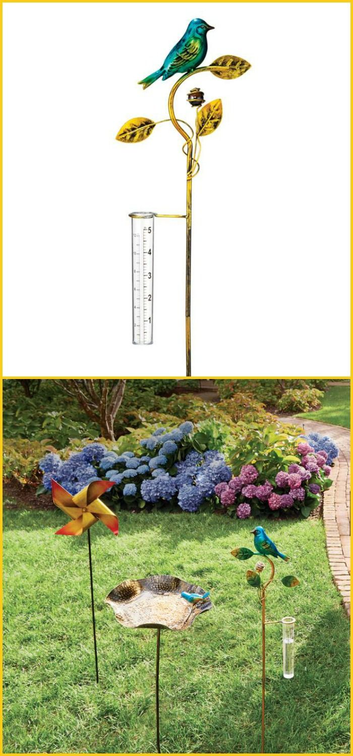 Avon Living Charming Garden Collection Decorative Rain Fall Measurer | AVON Shop Avon online at: https://youravon.com/jenbertram #MoxieMavenBeauty
