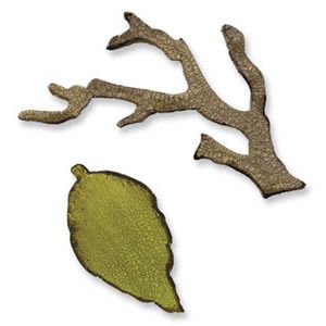 Sizzix Bigz Troquel Rama con hojas