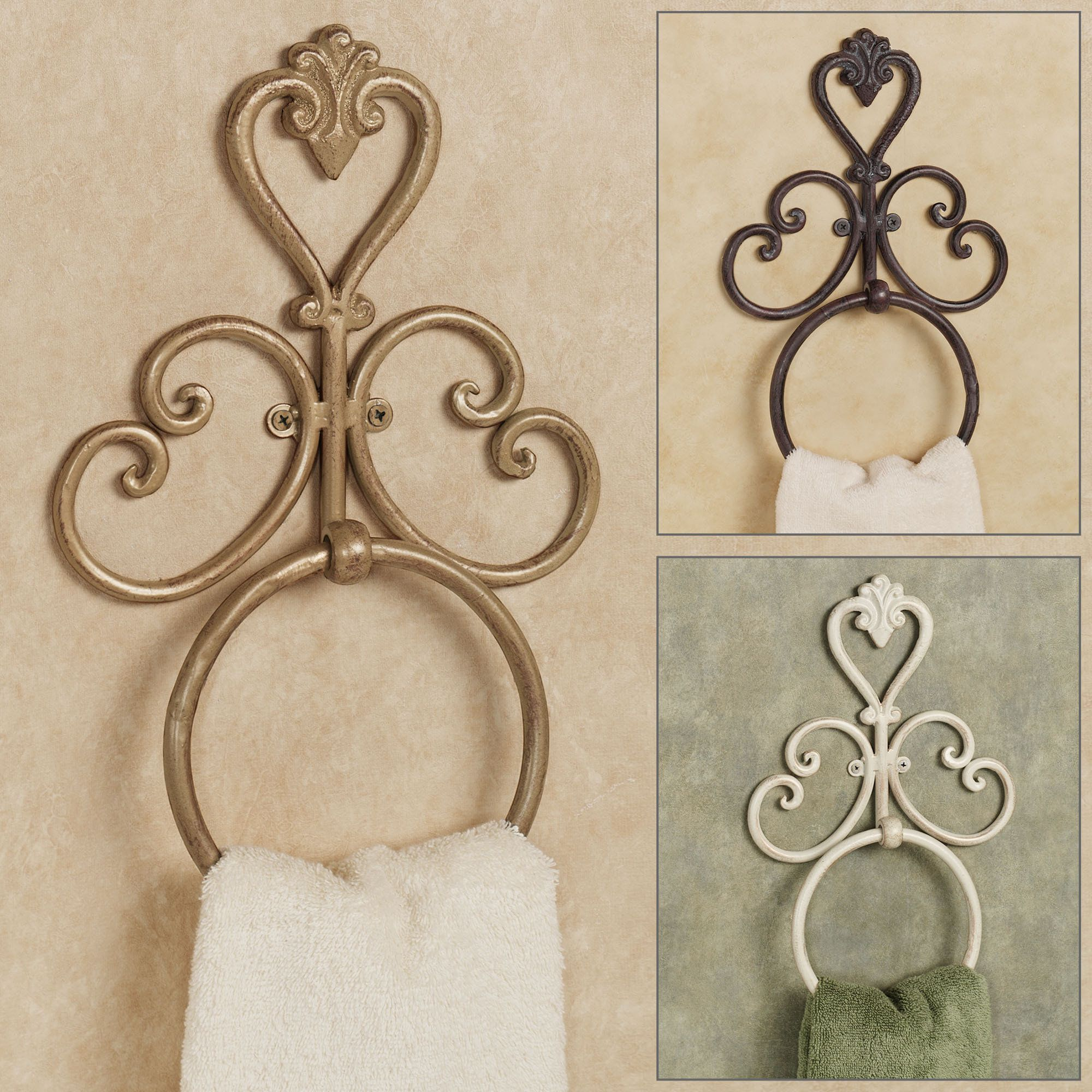 Aldabella Wall Mounted Towel Ring