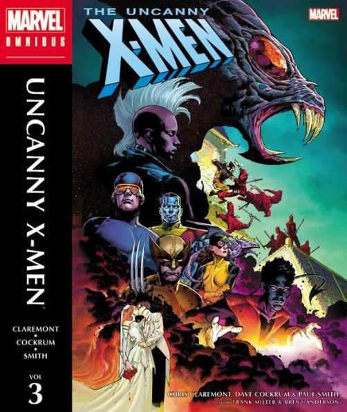 The Uncanny X Men Omnibus Vol 3 Products X Men The Uncanny Comic Book Characters