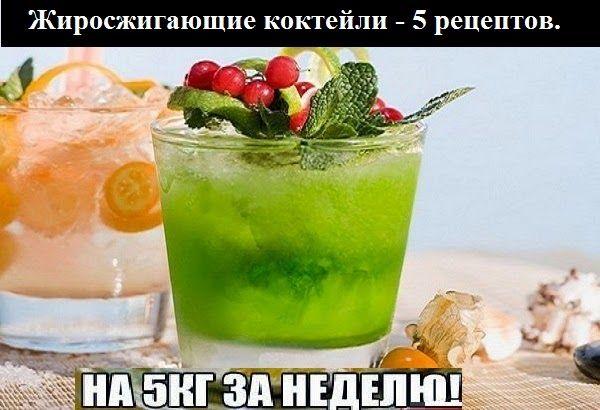 как похудеть коктейлями энерджи