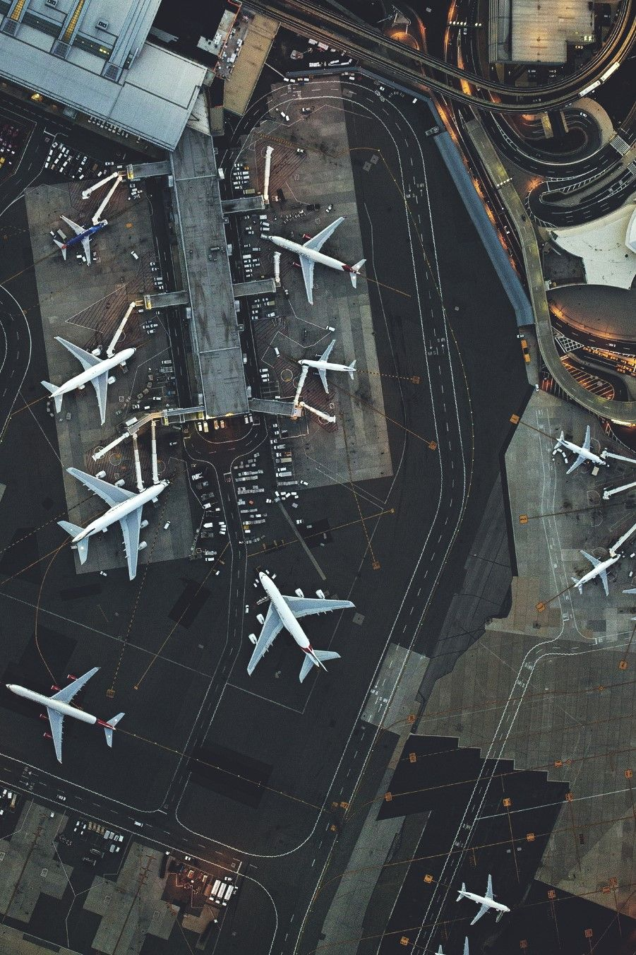 Map Usa States Airports%0A   Whenever I get gloomy with the state of the world  I think about the  arrivals gate at Heathrow Airport    topdown perspective bird u    seye view  overhead view