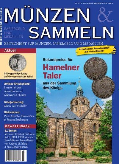 Rekordpreise Für Hamelner Taler Aus Der Sammlung De Königs
