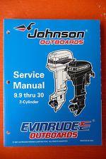 evinrude johnson 9 9 thru 30 2 cylinder outboard motor rh pinterest com johnson 9.9 outboard motor manual Johnson Outboard Motor Year Model