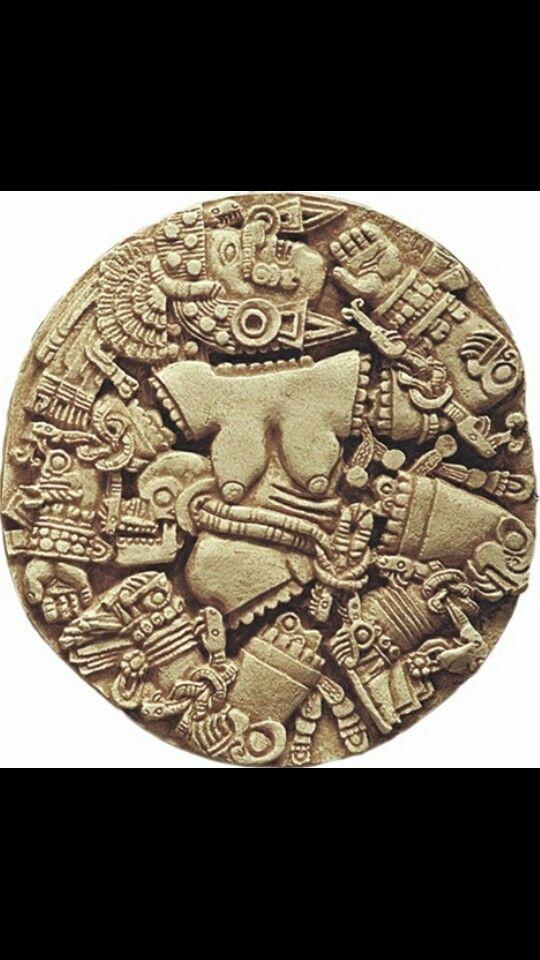 Goddess | Aztec Art | Pinterest