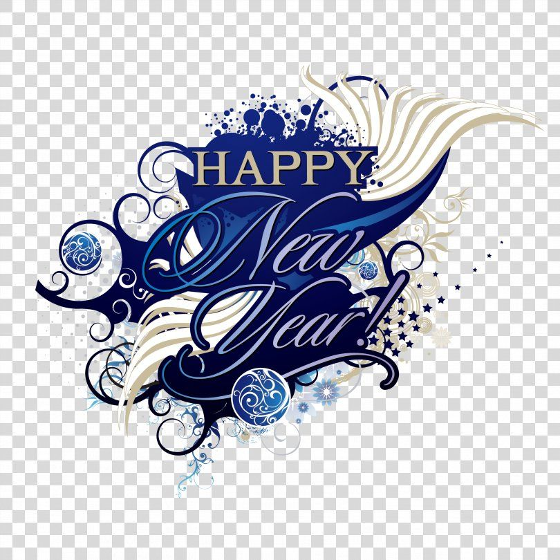 New Years Day New Years Eve Clip Art, Happy New Year
