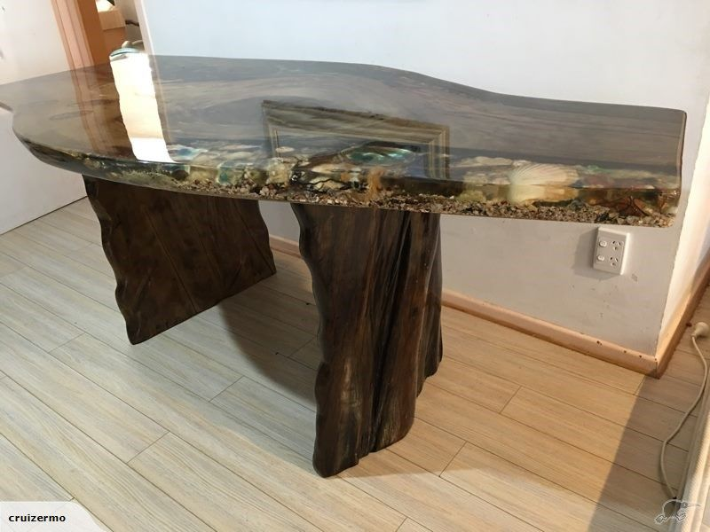 Swamp kauri table  Trade Me