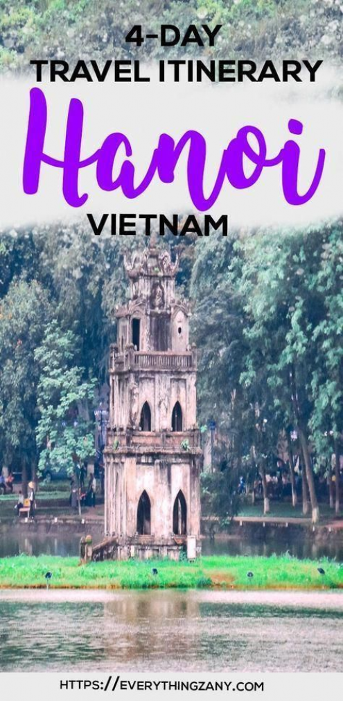 DIY Travel Guide: Hanoi to Halong Bay Vietnam (Budget and Itinerary) | #vietnam #hanoi #HaLongBay | The charming yet chaotic city of Hanoi has captivated the hearts of many with its history food and culture. Hanoi is the capital of Vietnam and has also been a capital of the French Indochina during their occupation in the region. The influence of the Hanois colonial past can be seen with its architecture and design fusion with the touch of the Orient. #BudgetVacation #vietnam #vietnam #halong #ba