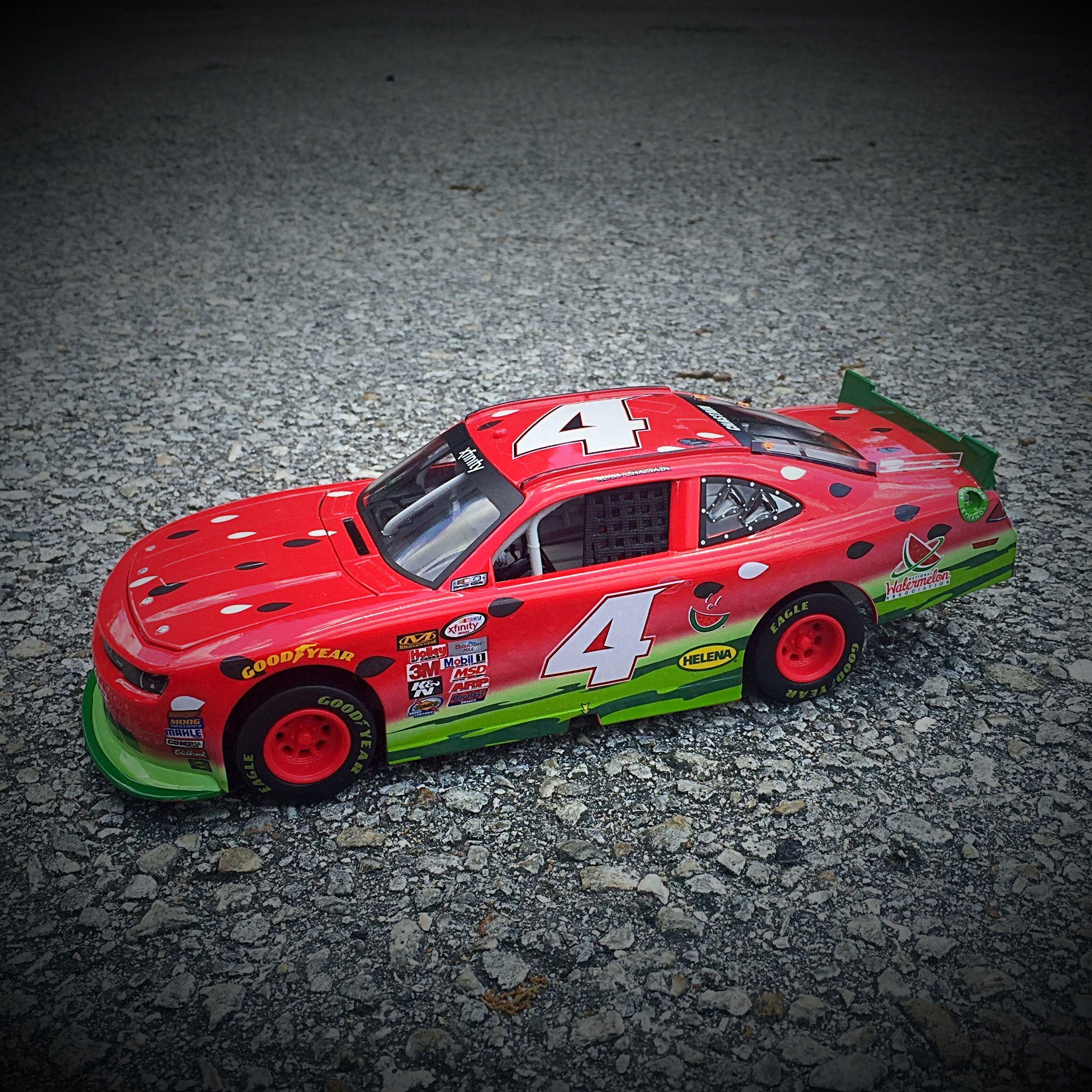 Die Cast Replica Of Xfinity Watermelon Race Car Original