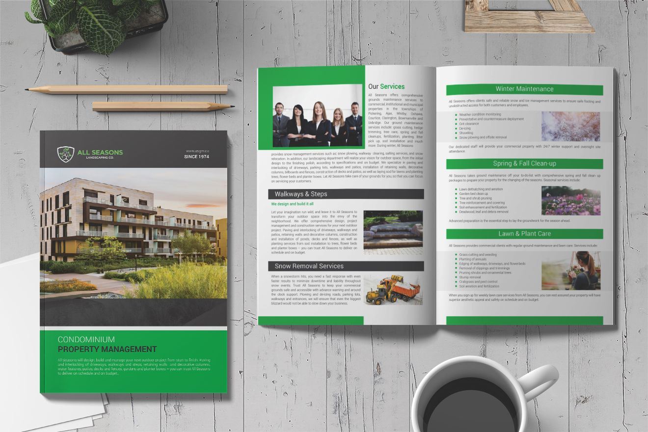 Need Professional, EyeCatching, Business Proposal, Annual