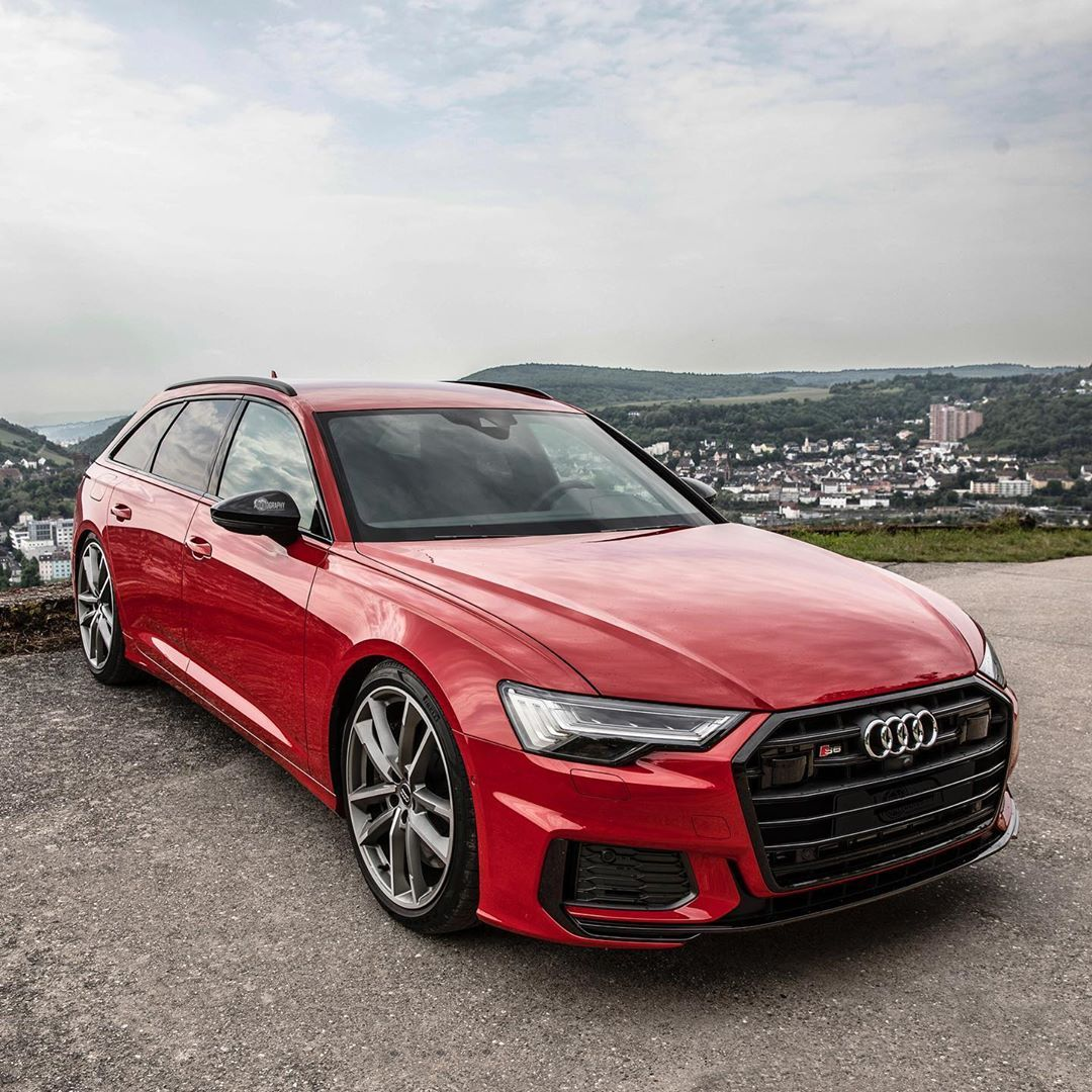 The New S6 Avant In The Gorgeous Tango Red Are You A Fan Ca Audi S6 Audi Tdi