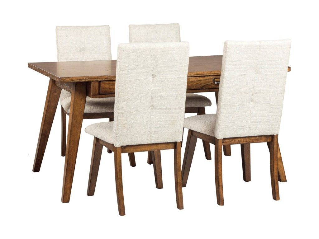 Centiar 5 Piece Rectangular Dining Room Set By Signature Design By Ashley Round Dining Table Sets Dining Room Server