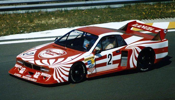 1980 Lancia Beta Montecarlo Group 5 in red