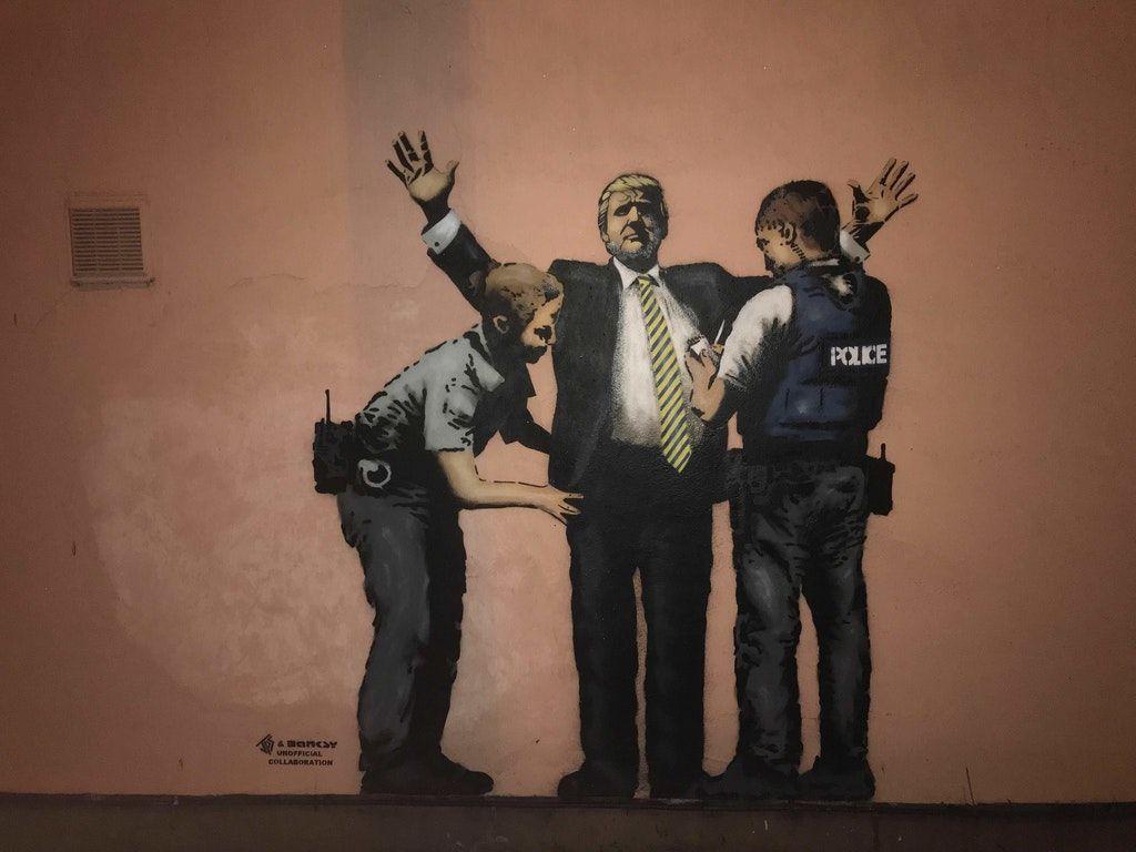 New Banksy spotted, UK. : pics   Banksy   Pinterest