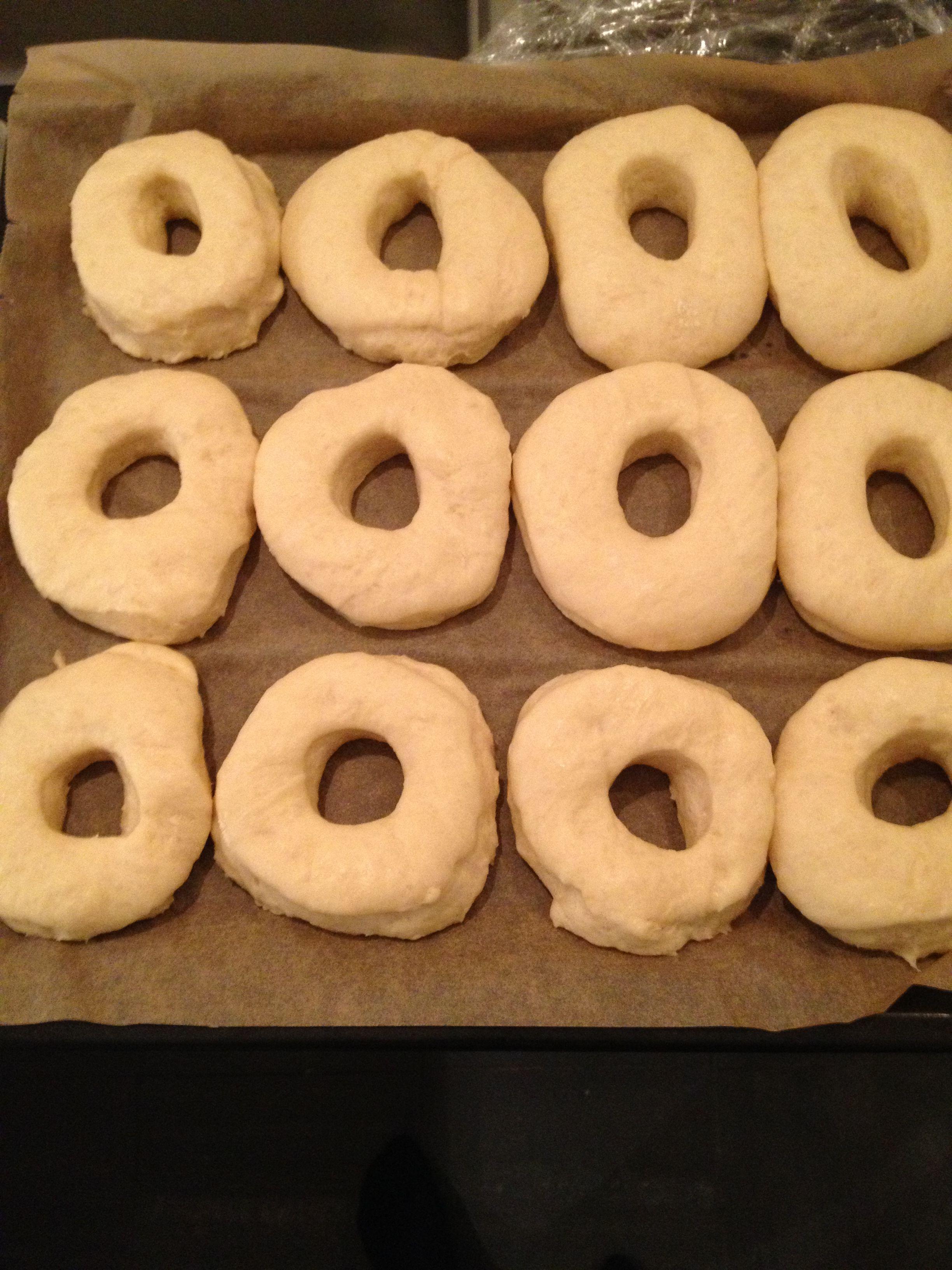Donuts klar til hævning