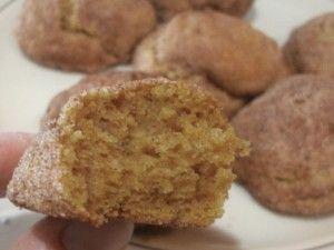 Gluten-free, dairy-free Pumpkin Snickerdoodles