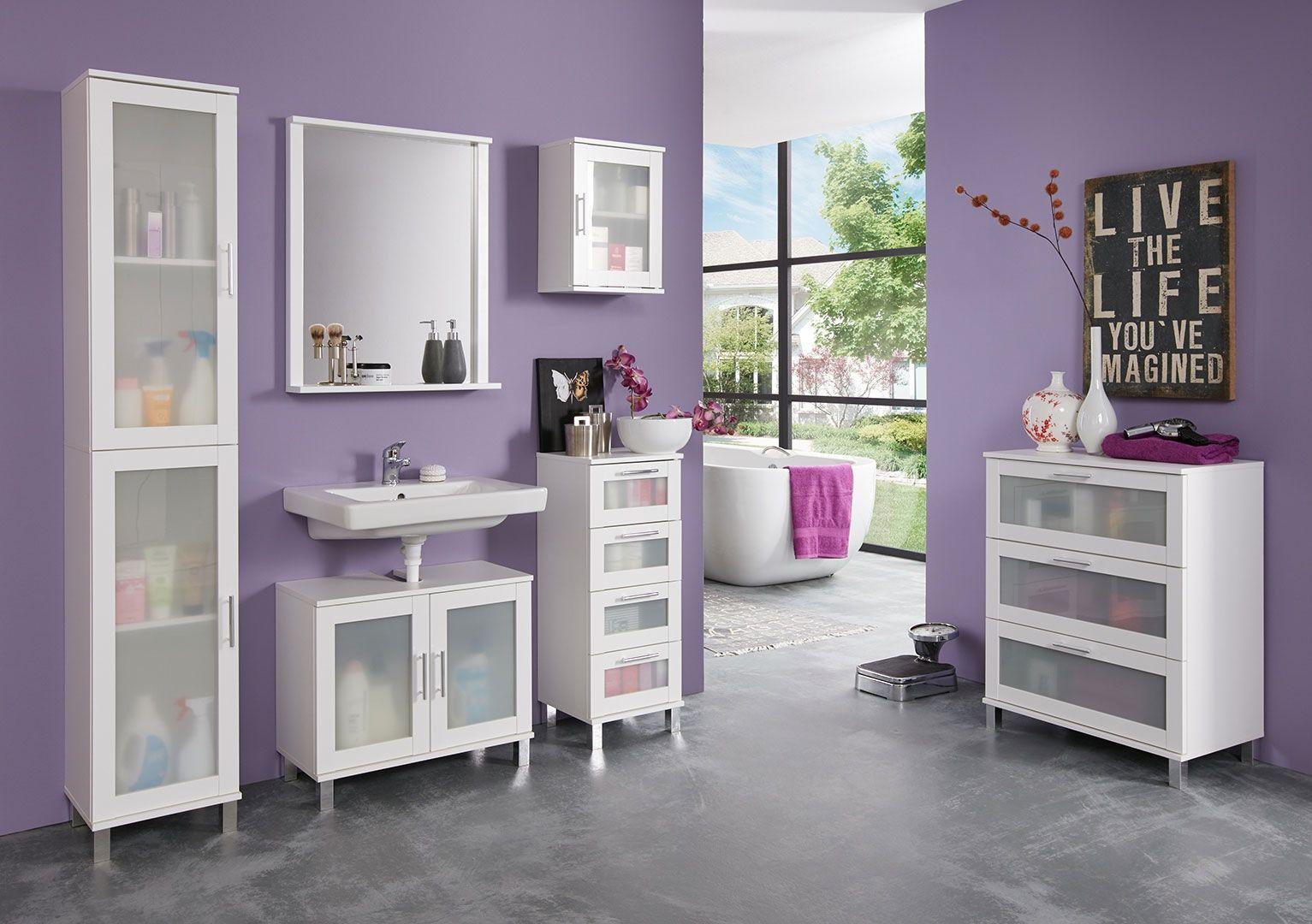 Trendteam Waschbeckenunterschrank Bay Masse B T H 123 53 39 Cm Online Kaufen Otto Waschbeckenunterschrank Waschtisch Unterschrank